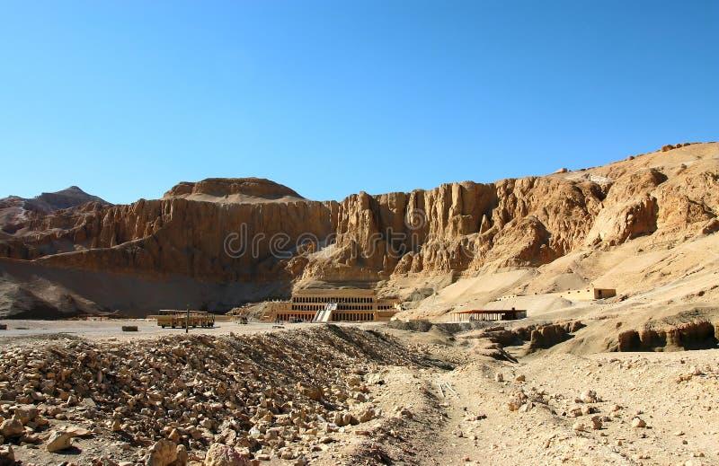 Tempiale di Hatshepsut. L'Egitto immagini stock libere da diritti