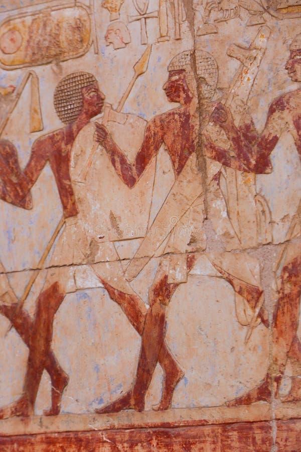 Tempiale di Hatshepsut a Luxor, Egitto fotografia stock