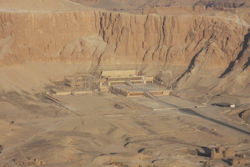 Tempiale di Hatshepsut Luxor Egitto immagini stock