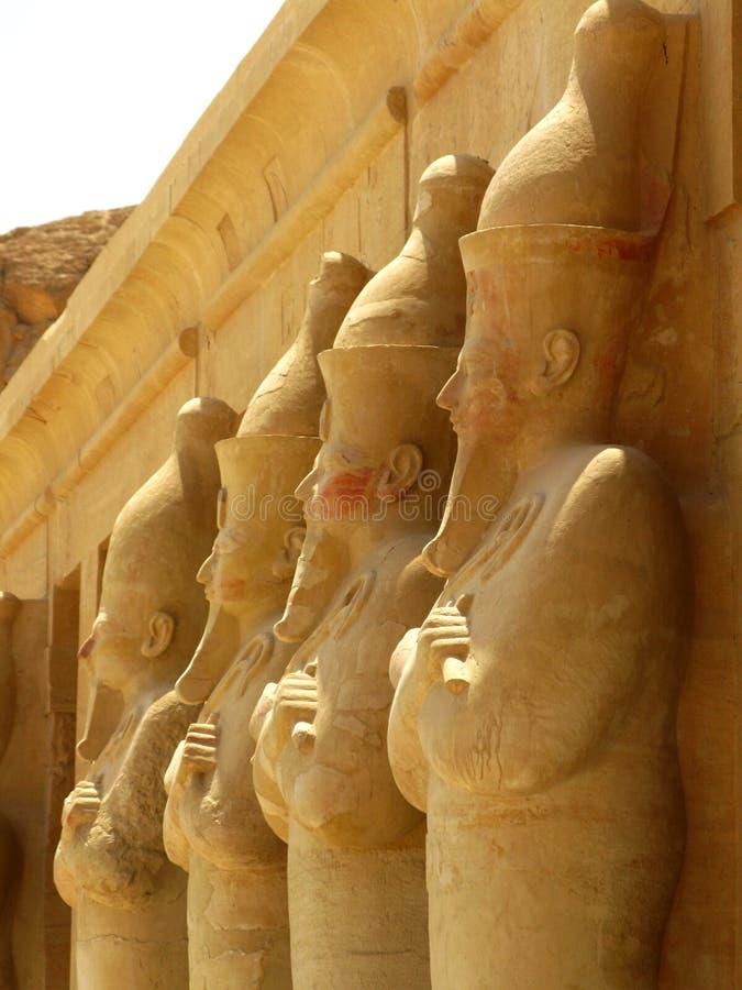 Tempiale di Hatshepsut, re Valley, Luxor (Egitto) immagine stock libera da diritti
