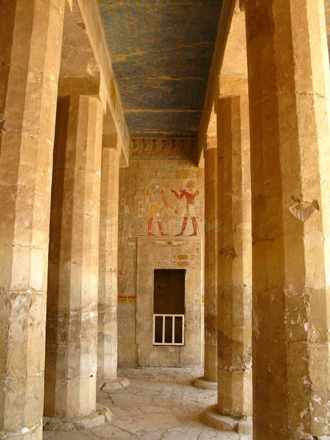 Tempiale di Hatshepsut, re Valley, Luxor (Egitto) fotografie stock libere da diritti