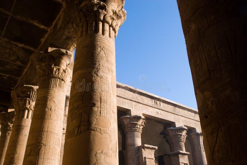 Tempiale di Horus immagini stock libere da diritti