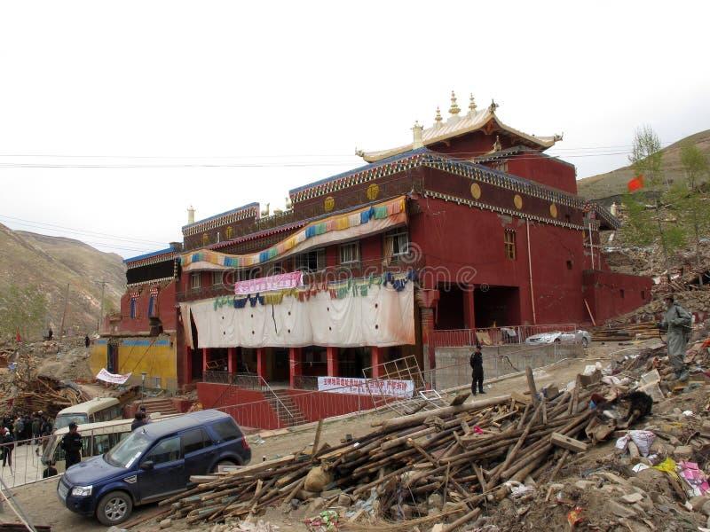 Tempiale di Jiegu fotografia stock