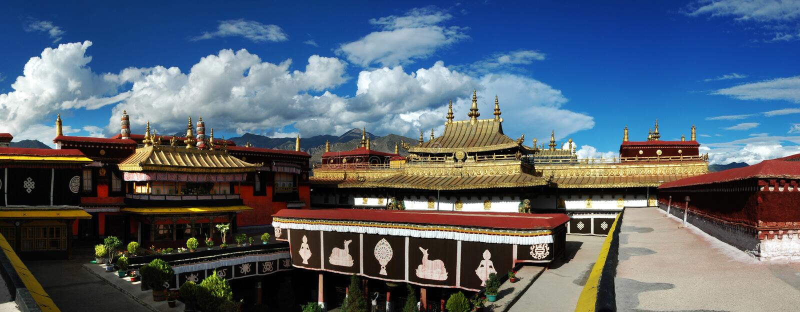 Tempiale di Jokhang fotografie stock