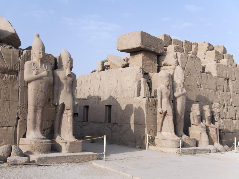 Tempiale di Karnak, Egitto fotografia stock libera da diritti