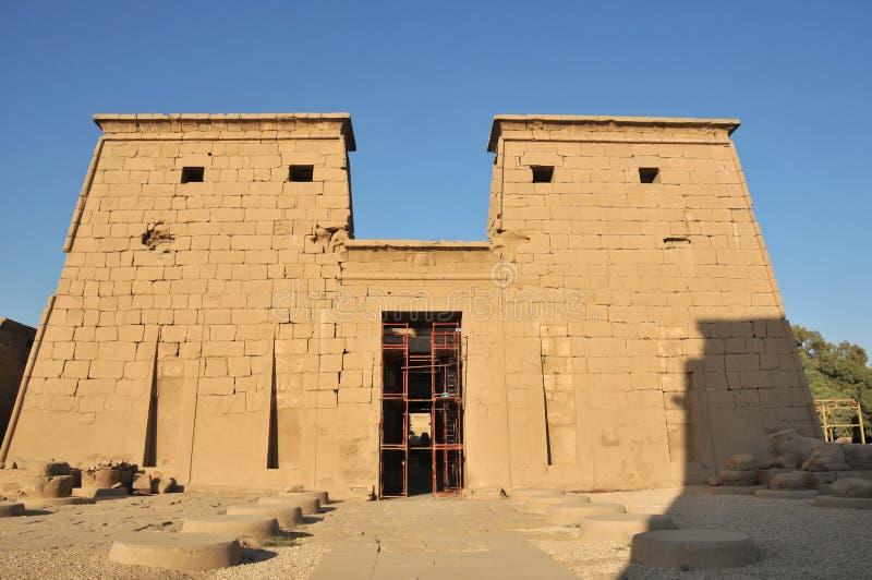 Tempiale di Khonsu immagine stock