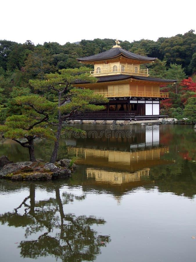 Tempiale di Kinkakuji fotografia stock