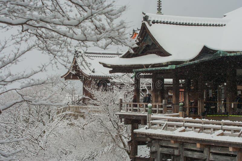 Tempiale di Kiyomizu-dera immagine stock