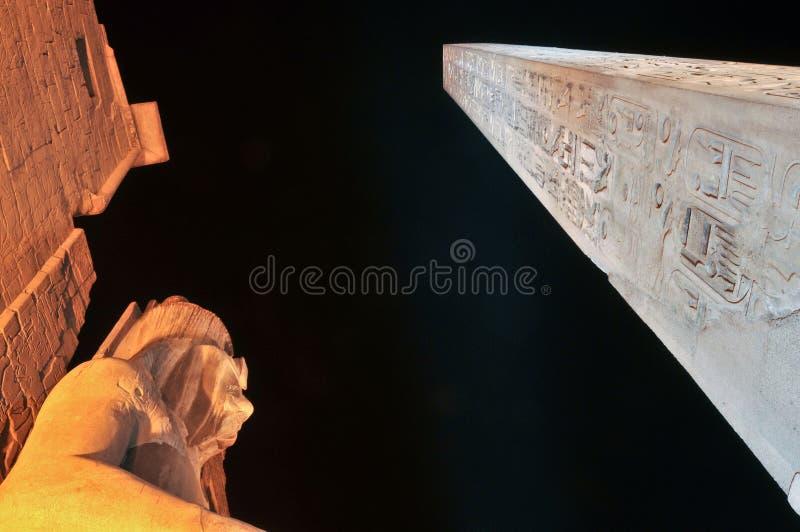 Tempiale di Luxor fotografia stock
