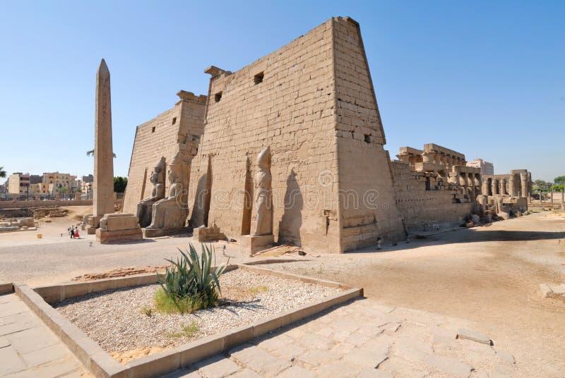 Tempiale di Luxor fotografia stock libera da diritti
