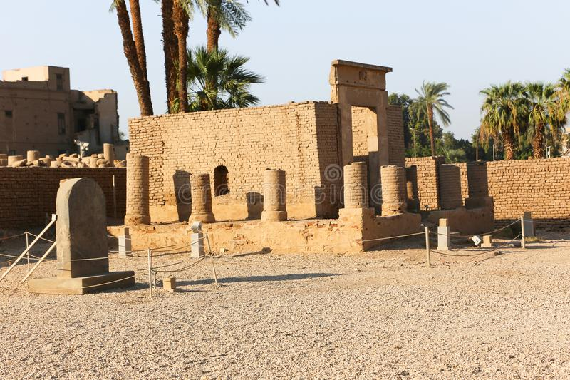 Tempiale di Luxor, Egitto immagine stock libera da diritti