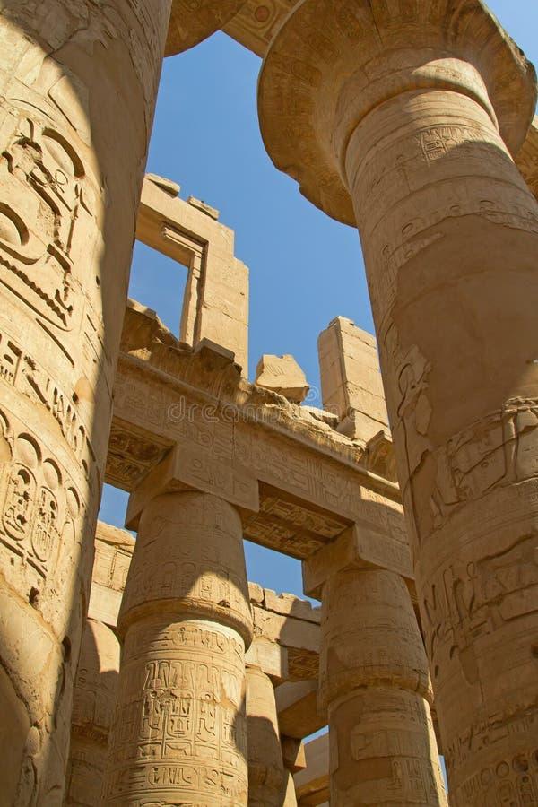 Tempiale di Luxor (Egitto) immagini stock libere da diritti
