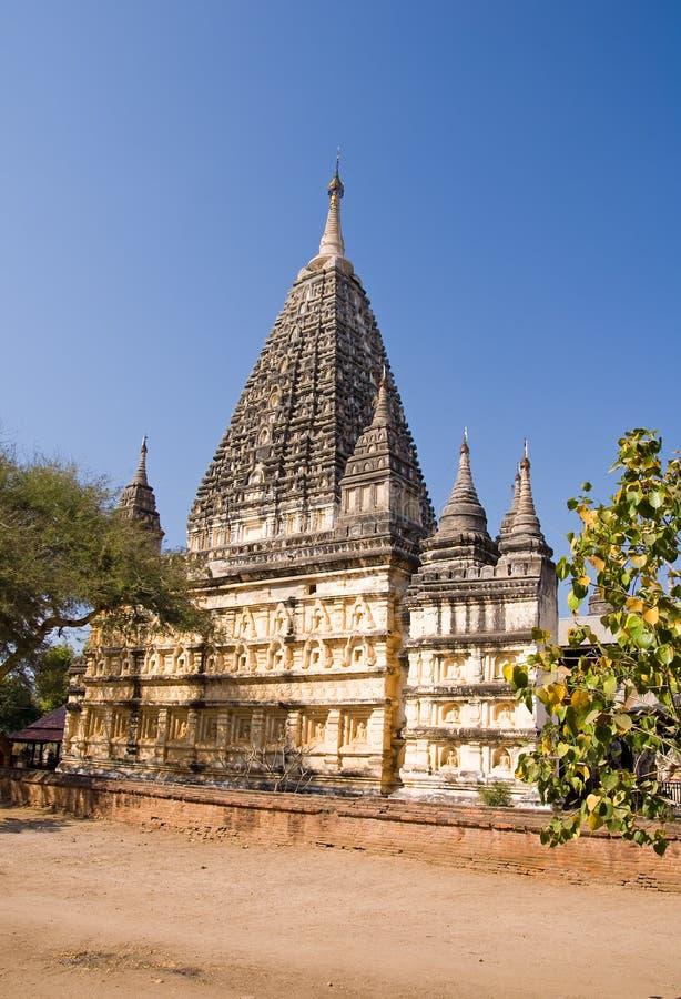 Tempiale di Mahabodhi fotografia stock