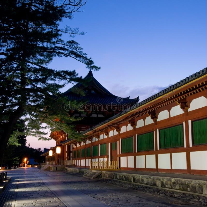 Tempiale di Nara Todaiji fotografia stock libera da diritti