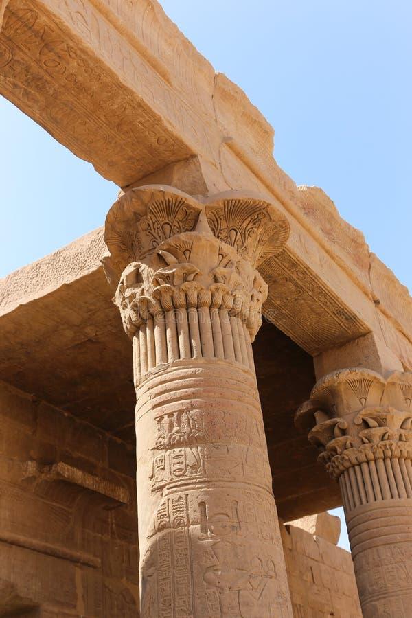 Tempiale di Philae, Egitto fotografie stock libere da diritti