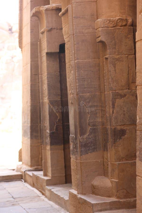 Tempiale di Philae, Egitto fotografia stock