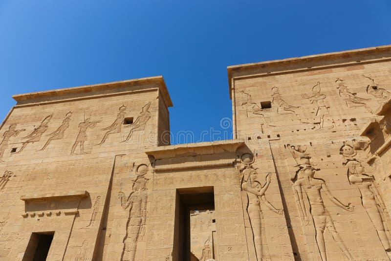 Tempiale di Philae, Egitto immagini stock libere da diritti