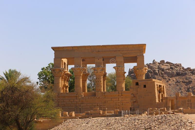 Tempiale di Philae, Egitto immagine stock libera da diritti