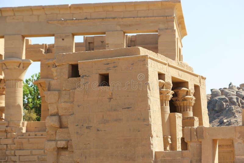 Tempiale di Philae, Egitto fotografie stock