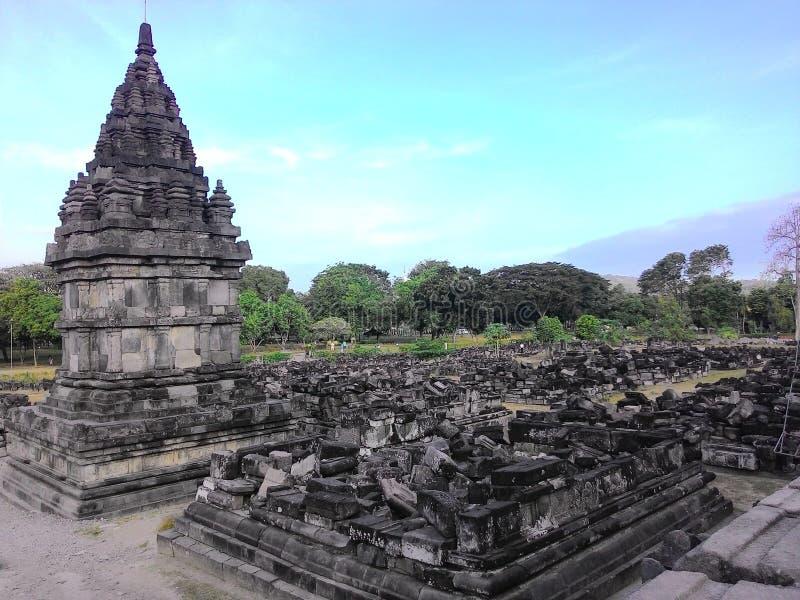 Tempiale di Prambanan immagine stock libera da diritti