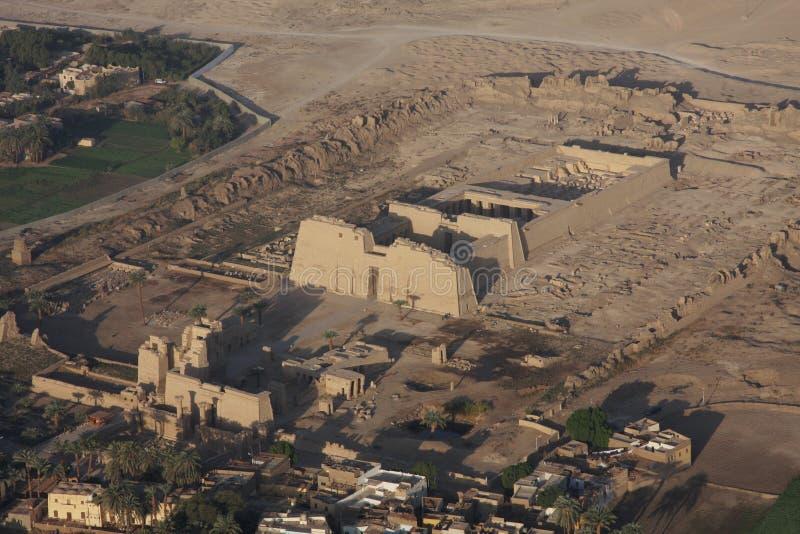 Tempiale di Ramses II, Luxor, Egitto immagine stock