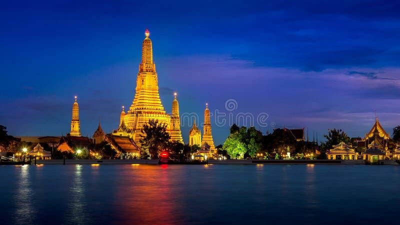 Tempiale di Wat Arun a Bangkok fotografie stock