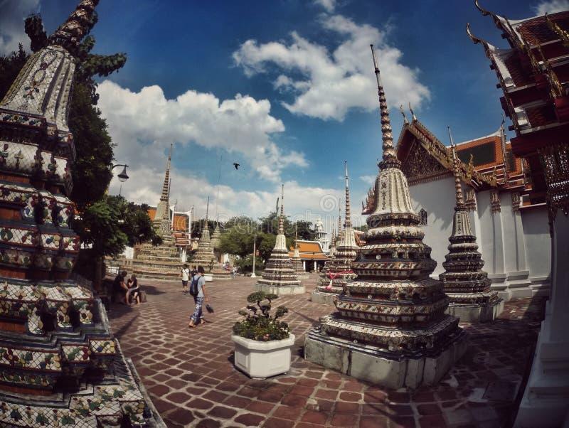 Tempiale di Wat Pho immagini stock libere da diritti