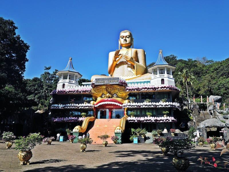 Tempiale dorato del Buddha fotografia stock libera da diritti