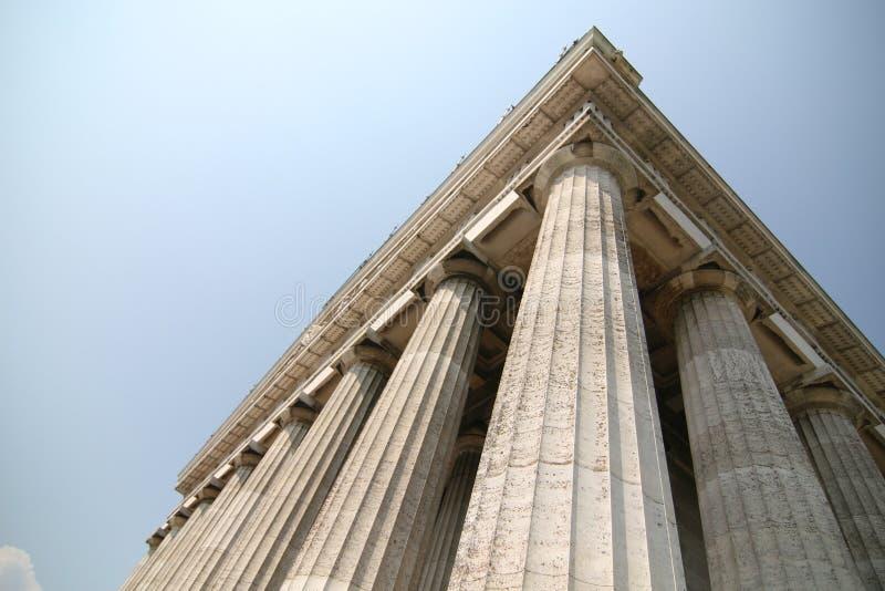 Tempiale greco immagini stock libere da diritti