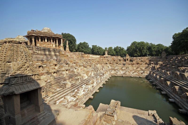 Tempiale indù antico immagini stock libere da diritti