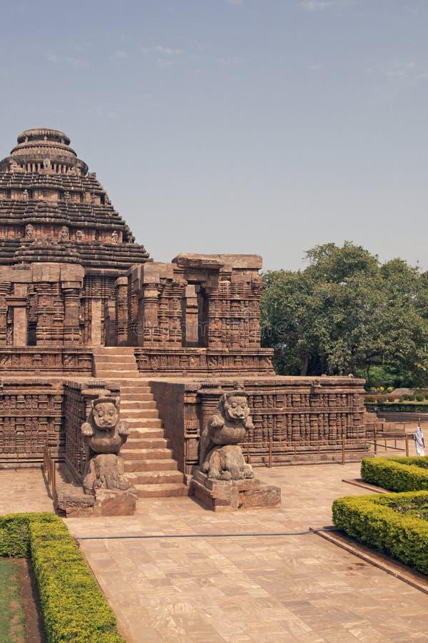 Tempiale indù antico fotografia stock libera da diritti