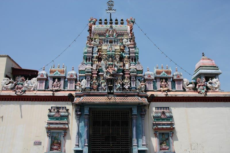 Tempiale indù a Georgetown fotografie stock libere da diritti