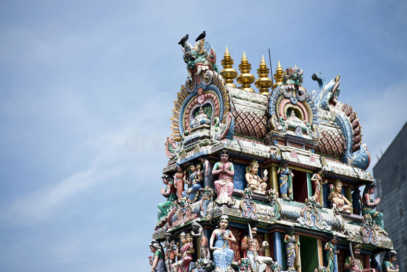 Tempiale indù indiano fotografie stock libere da diritti