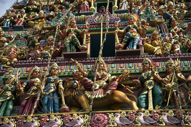 Tempiale indù indiano immagine stock