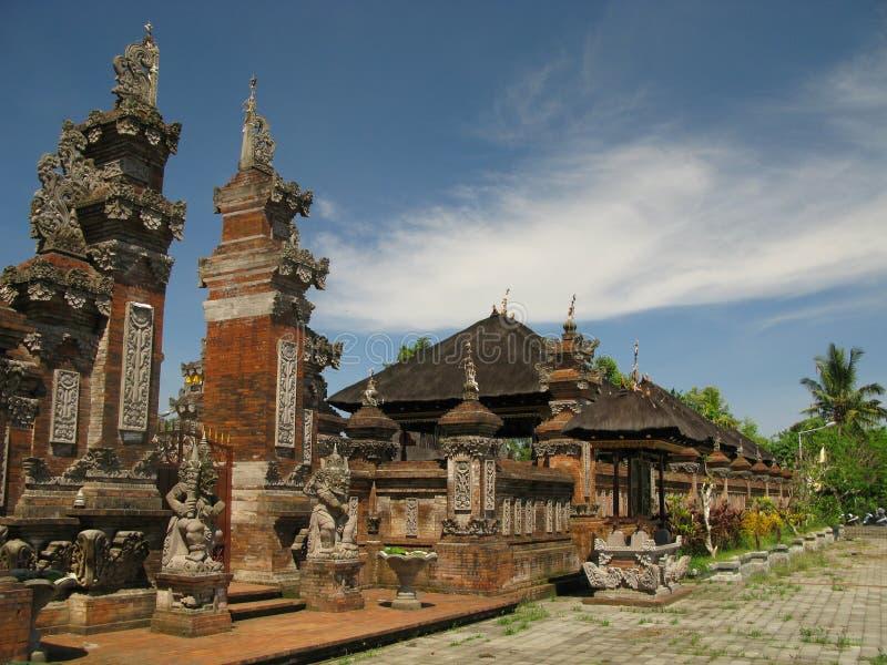 Tempiale in Indonesia immagine stock