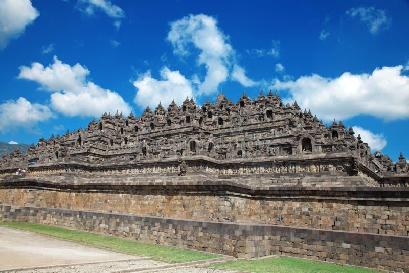 Tempiale Indonesia di Borobudur fotografia stock