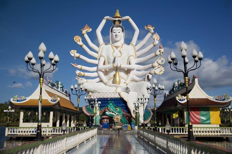 Tempiale in KOH Samui immagini stock libere da diritti