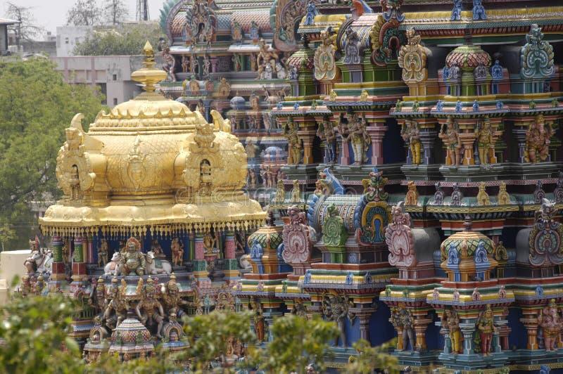 Tempiale Madura di Menakshi immagine stock