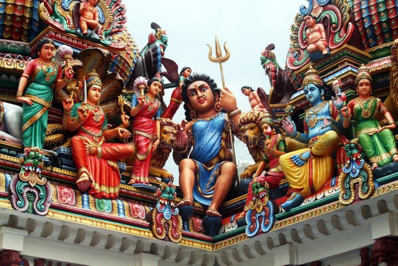 Tempiale mariamman di Sri immagine stock