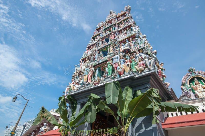 Tempiale mariamman di Sri fotografie stock libere da diritti
