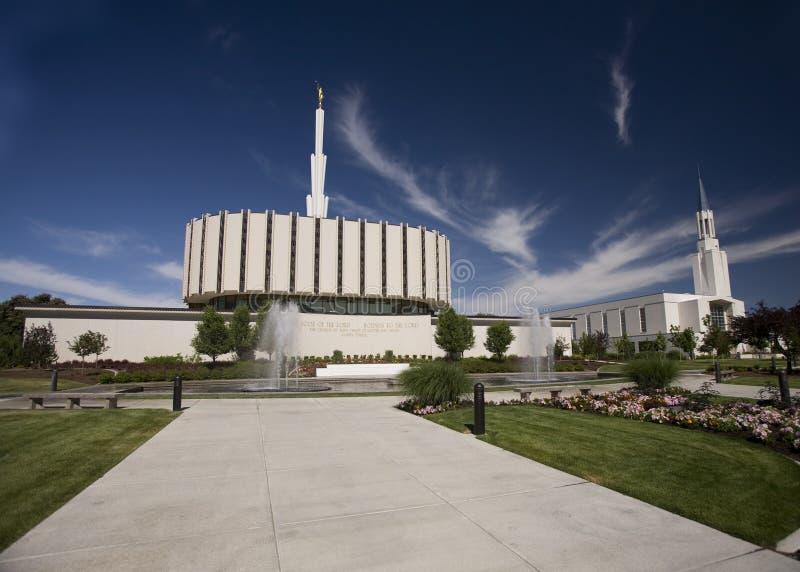 Tempiale mormonico Ogden Utah immagini stock libere da diritti
