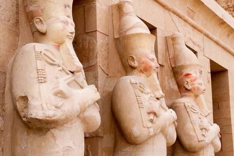 Tempiale mortuario della regina Hatshepsut immagine stock