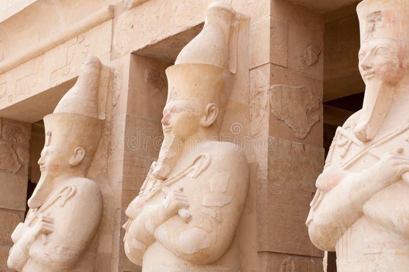 Tempiale mortuario della regina Hatshepsut fotografie stock libere da diritti
