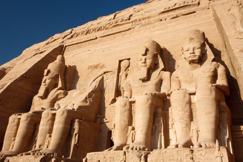 Tempiale nell'Egitto immagini stock libere da diritti