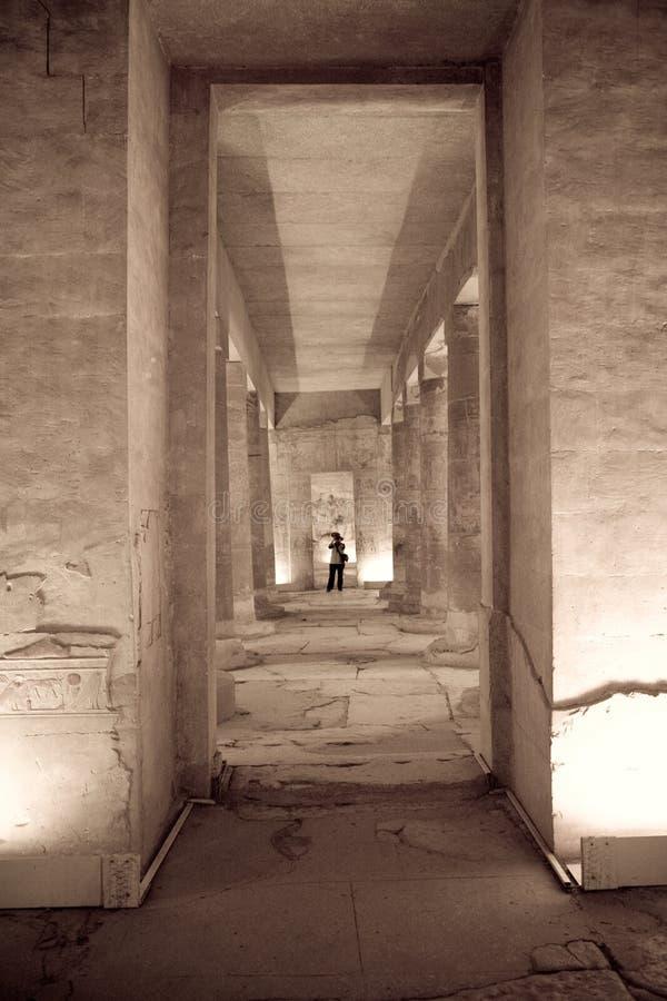 Tempiale nell'Egitto fotografie stock