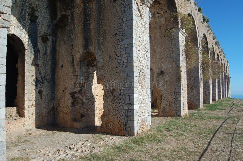 Tempiale romano dello Zeus fotografia stock libera da diritti