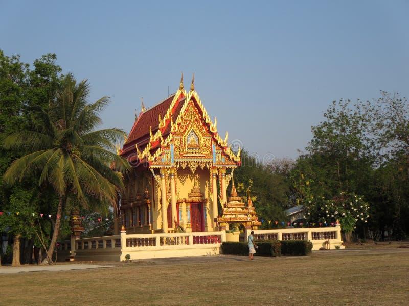 Tempiale tailandese fotografia stock