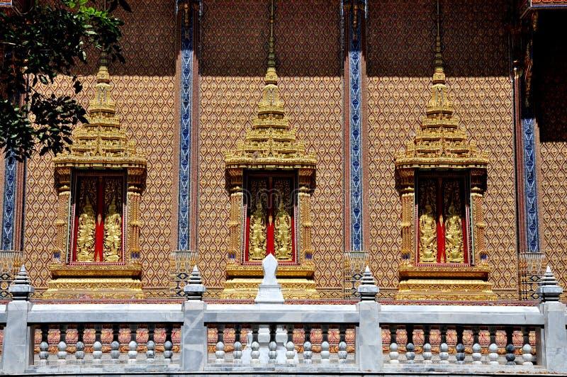 Tempiale tailandese di WatPrako fotografie stock libere da diritti