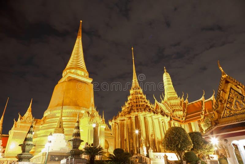 Tempiale tailandese in grande palazzo, Bangkok, Tailandia immagine stock libera da diritti