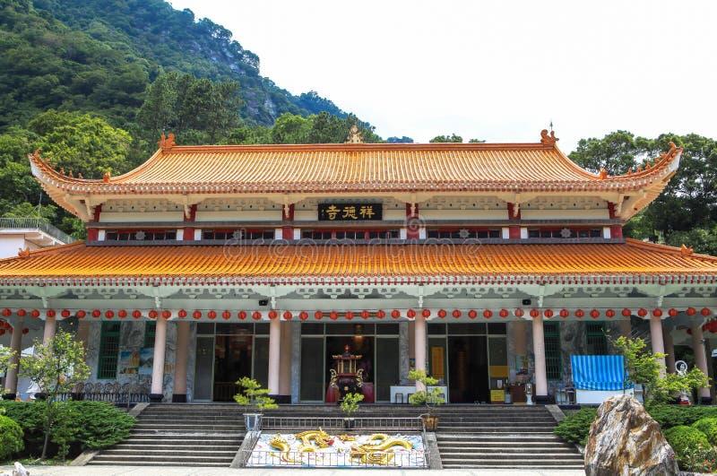 Tempiale in Taiwan fotografia stock libera da diritti